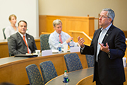 UWW President Brian Gallagher Visits NH