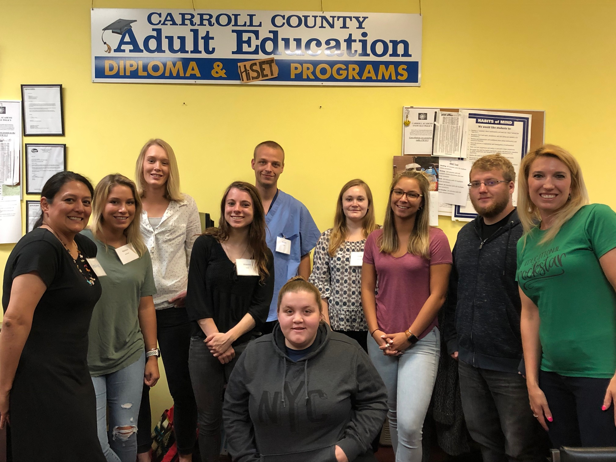 Young Adults Raising Awareness in Carroll County
